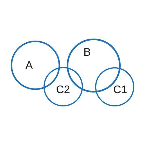 """Implikationen Erkennen """"Alle A sind keine B. Einige C sind B."""""""
